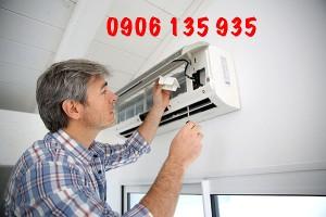 Kỹ thuật viên bảo trì máy lạnh Bình Dương