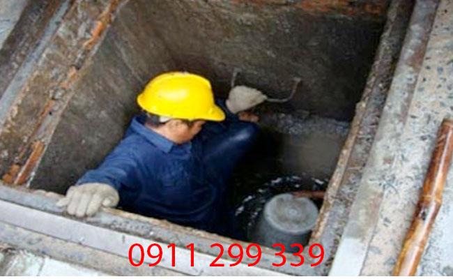 Không ngại khổ, không ngại khó chính là những anh thợ thi công của congtybinhduong.com