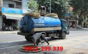 Dịch vụ hút hầm cầu phường Hố Nai