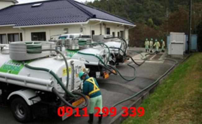 Dịch vụ hút hầm cầu phường Thanh Bình