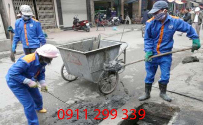 Dịch vụ thông cống nghẹt phường Long Bình