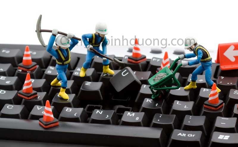 Sửa máy tính tại Bình Dương