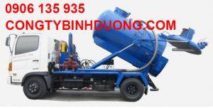 Xe hút hầm cầu Thuận An chuyên dụng mới nhất hiện nay