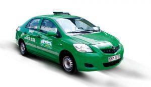 Xe taxi Mai Linh ở Bình Dương