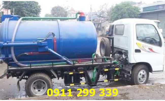 Sử dụng các loại xe chứa chuyên dụng đảm bảo thông tắc các loại cống tại Tân Biên